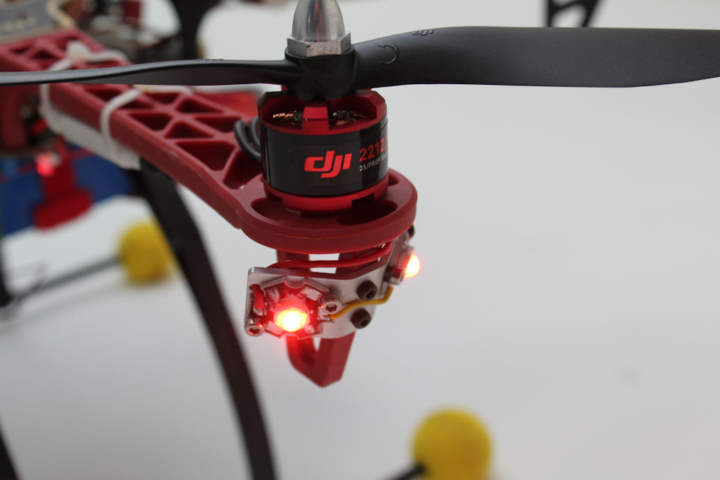 Port LED-d