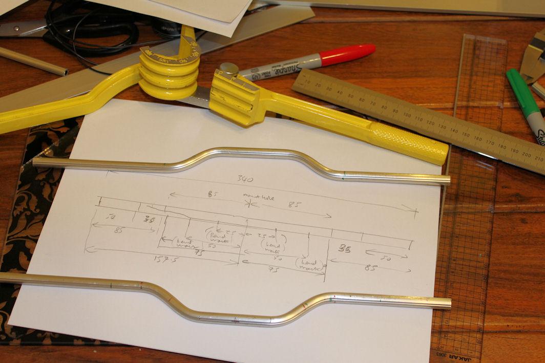 Bending Aluminium Tube