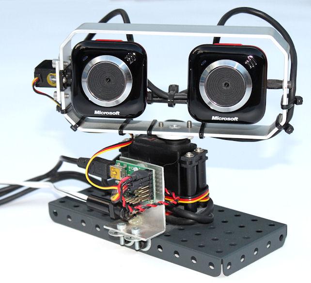 Stereo Vision Webcam
